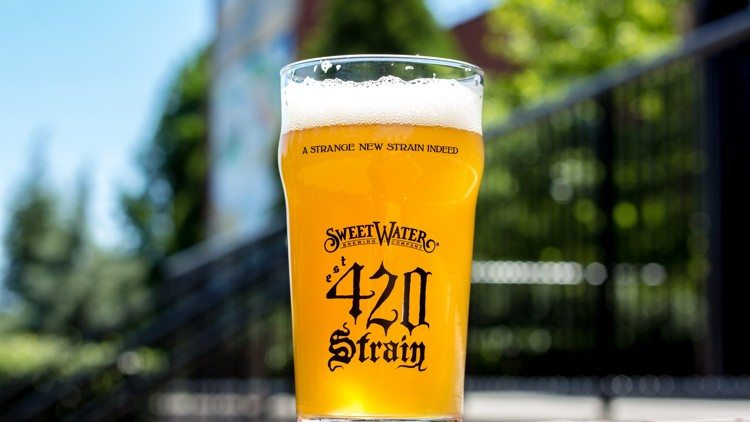 Yes SweetWater 420 Strain is on tap at Flagler Tavern