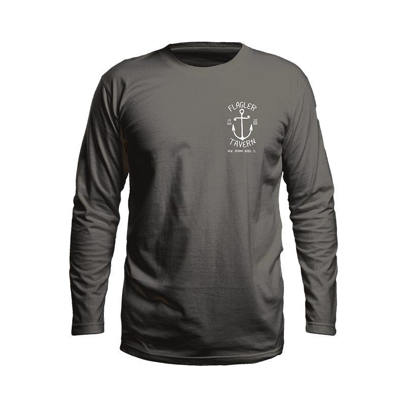 Dark Grey Long Sleeve Tshirt