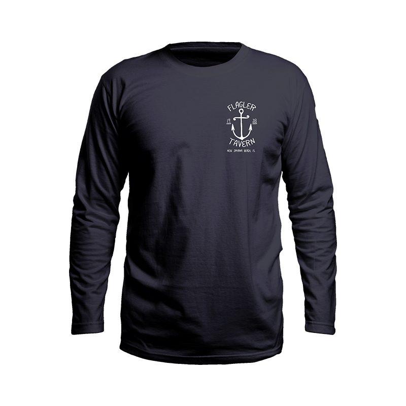 Navy Long Sleeve Tshirt