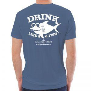 Photo of Indigo mens T-Shirt with Fish Design