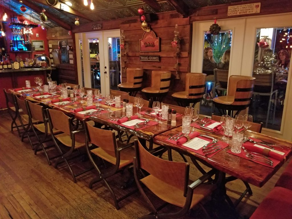 The perfect setting for your holiday party
