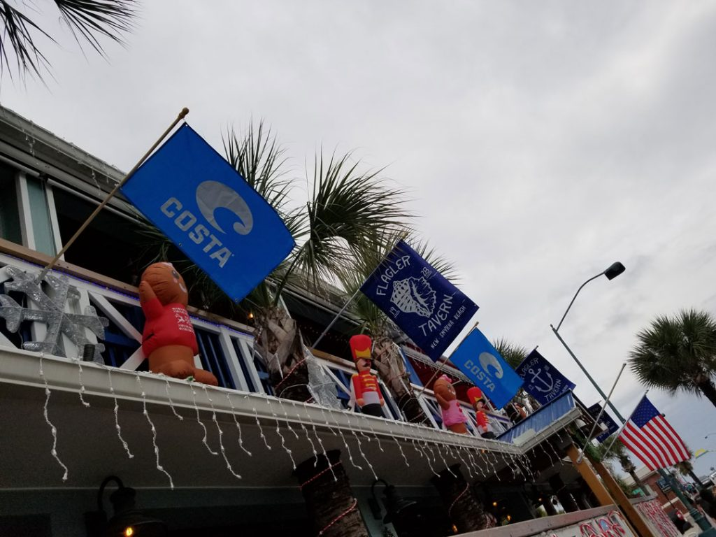 Costa Flags flying high during Costa Del Mar Christmas Party