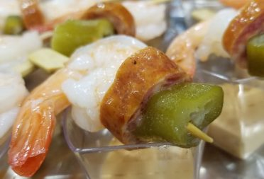 In-House Catering: Low Country Boil Kabobs