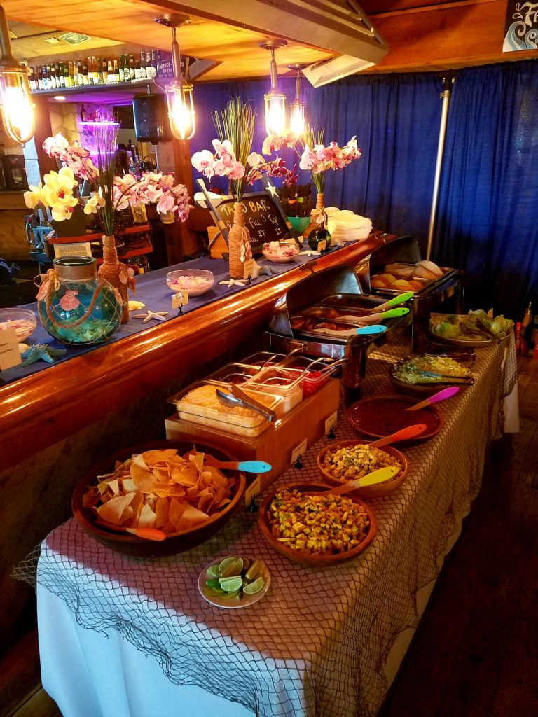 Bealls Corporate Event, Build Your Own Taco Bar