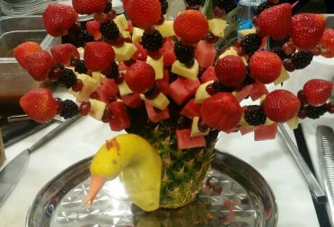 Private Catering Fruit Skewers