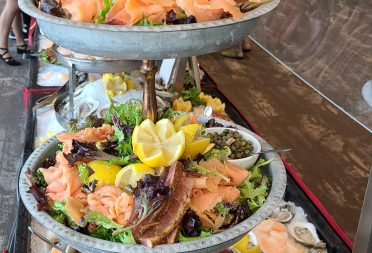 Offsite Catering Salmon Tower
