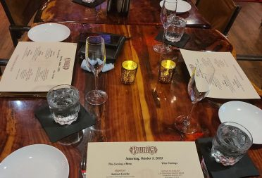 Private Dining Birthday Wine Dinner